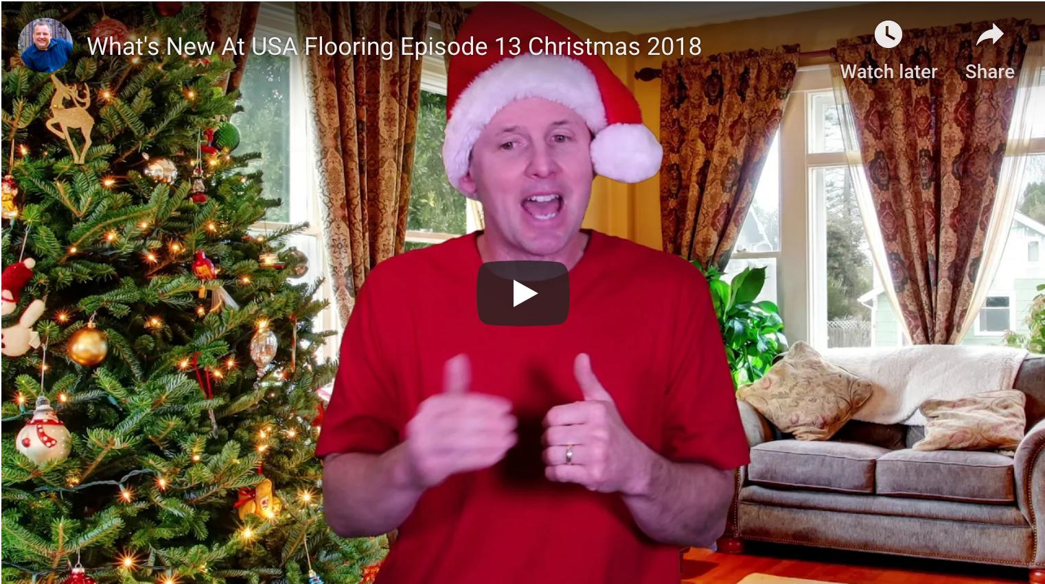 Christmas 2018 USA Flooring